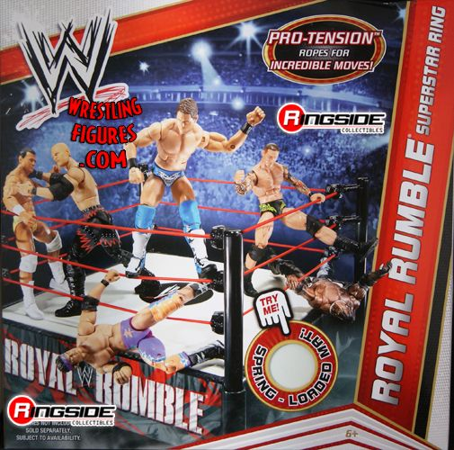 Royal Rumble Superstar Ring Ringside Collectibles