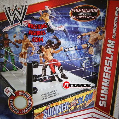 Summerslam Wrestling Ring Ringside Collectibles