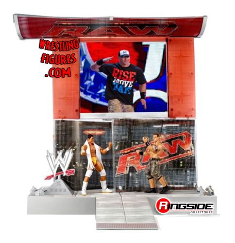 Mattel WWE Superstar RAW HD Entrance Stage Playset!