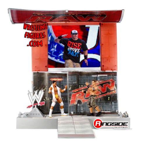 Mattel WWE Superstar RAW HD Entrance Stage Playset!