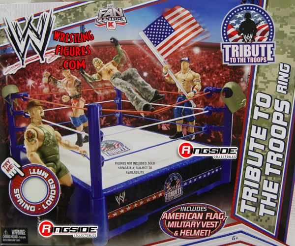 Tribute To The Troops Ring Ringside Collectibles