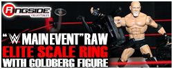 Mattel WWE Main Event Raw Elite Scale Ring !