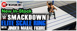 Mattel WWE Smackdown Ring with Jinder Mahal!
