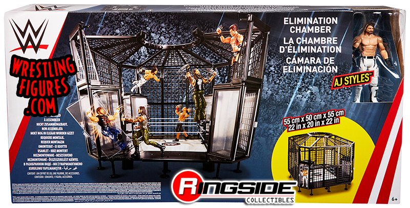 Wwe Elimination Chamber Playset Exclusive Wwe Toy