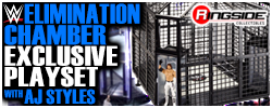 Mattel WWE Elimination Chamber Playset Ringside Exclusive!