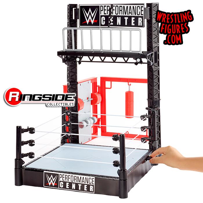WWE Wrekkin Performance Center Playset wrestling ring toy