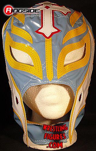 Rey Mysterio Sky Blue Amp Yellow Kids Size Replica Mask