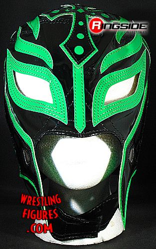 Rey Mysterio Black Amp Green Kids Size Replica Half Mask