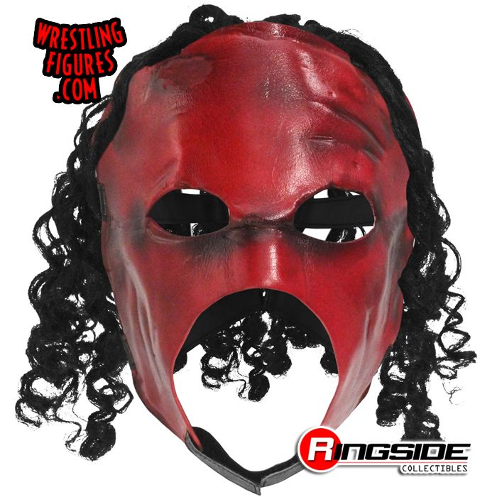 Kane Version 3 Adult Size Replica Mask With Hair Ringside