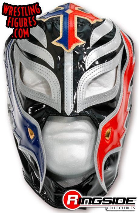 Rey Mysterio Black Red Amp Blue Kids Size Replica Mask
