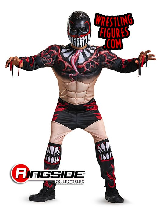 finn balor wwe roleplay costume kid size wwe toy wrestling roleplay by disguise - Triple H Halloween Costume