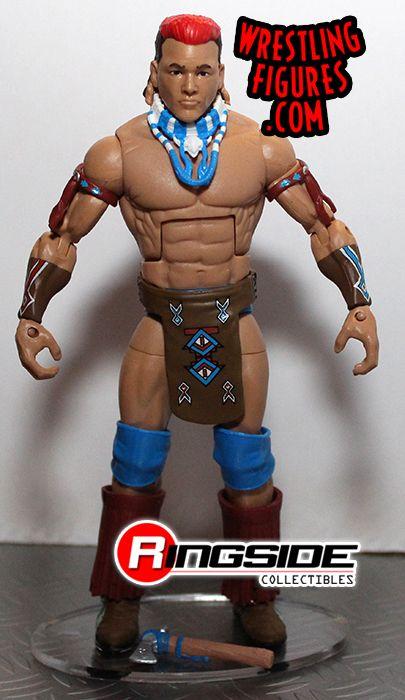 Tatanka Wwe Elite 47 Wwe Toy Wrestling Action Figure By