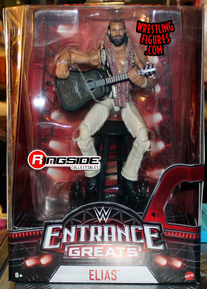 Elias Wwe Entrance Greats Wwe Toy Wrestling Action