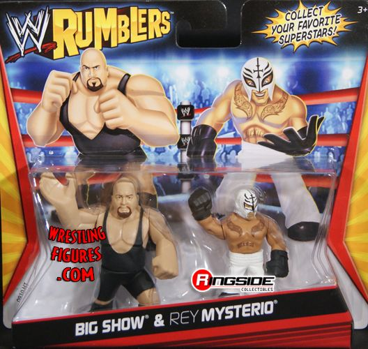 Big Show Amp Rey Mysterio Wwe Rumblers Ringside Collectibles