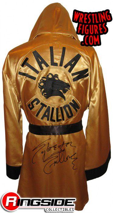 Sylvester Stallone Rocky Balboa Autographed Rocky Iii