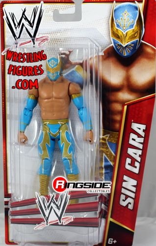 Sin Cara Wwe Signature Series 2012 Ringside Collectibles