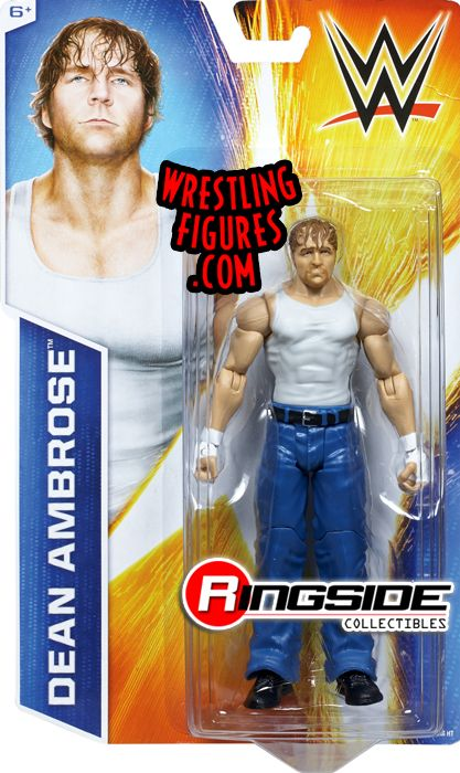 Dean Ambrose Wwe Signature Series 2014 Wwe Toy Wrestling
