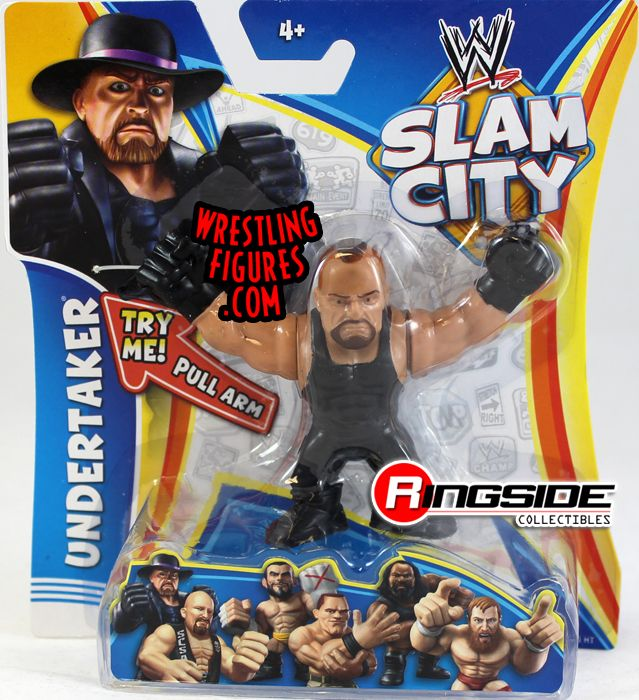 Undertaker Wwe Slam City Ringside Collectibles