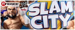 Mattel WWE Slam City Toys!