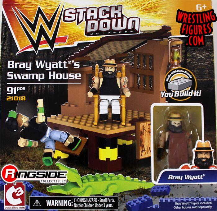 Bray Wyatt S Swamp House Wwe Stackdown Playset
