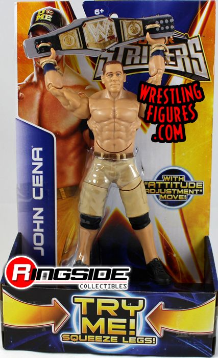 Mattel WWE Super Strikers John Cena!