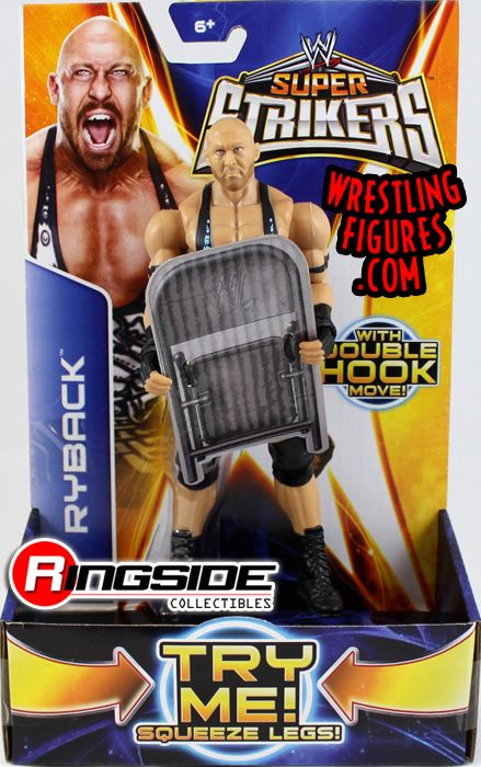 Mattel WWE Super Strikers Ryback!
