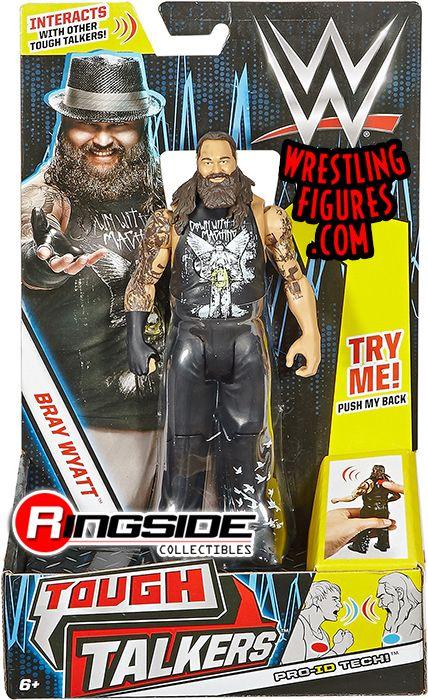 Bray Wyatt Wwe Tough Talkers Series 1 Toy Wrestling