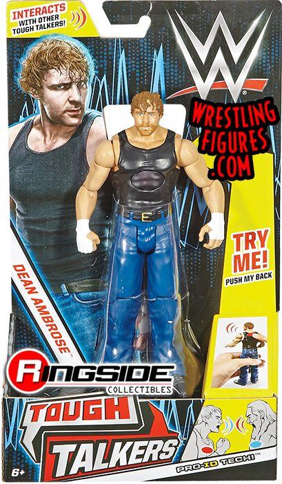 Dean Ambrose Wwe Tough Talkers Series 1 Toy Wrestling