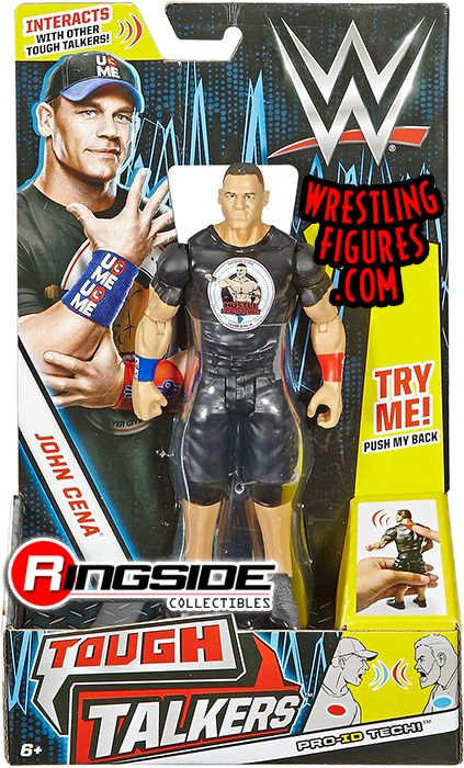 John Cena Wwe Tough Talkers Series 1 Toy Wrestling