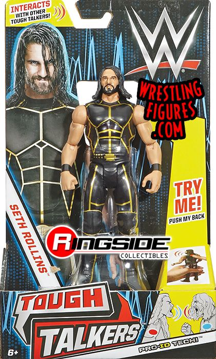 Seth Rollins Wwe Tough Talkers Series 1 Toy Wrestling