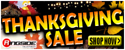 Thanksgiving Sale at RINGSIDE!