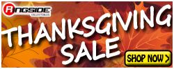 Ringside's Thankgiving Sale!