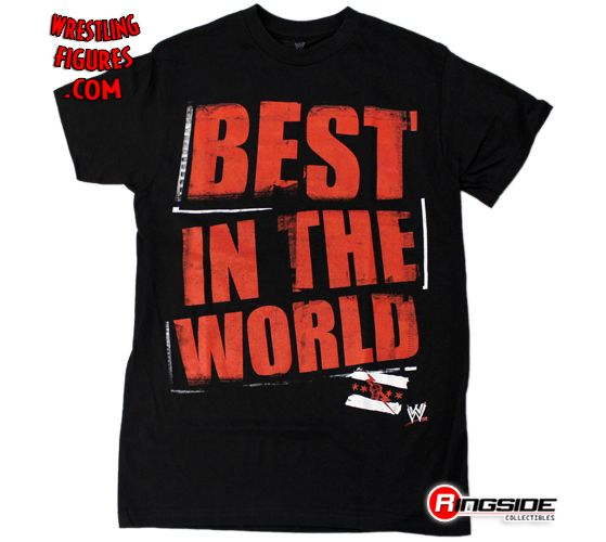 Cm Punk Best In The World Black Wwe T Shirt Ringside