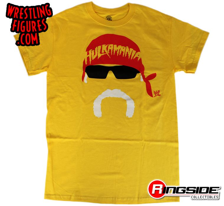 Hulk Hogan Hogan Face Wwe T Shirt Ringside Collectibles