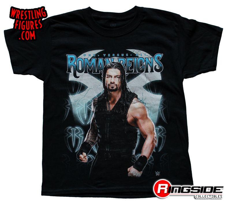 Roman Reigns Posing W Symbol Kids Wwe Wrestling T
