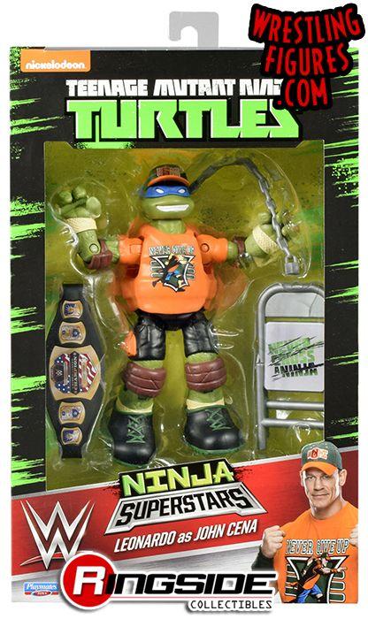 Leonardo Leo As John Cena Tmnt Wwe Ninja Superstars