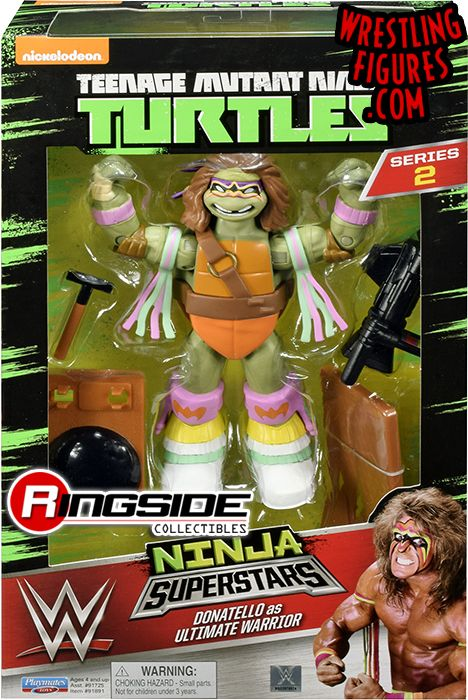 Donatello Donnie As Ultimate Warrior Tmnt Wwe Ninja