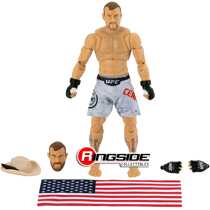Chase Variant Silver Shorts Donald Cerrone Ufc Limited Edition Ultimate Series 6 Scale Ufc Toy Mma Action Figure By Jazwares