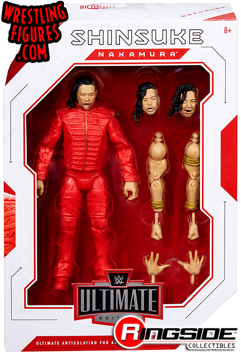 WWE Wrestling Figure Ultimate Edition Shinsuke Nakamura