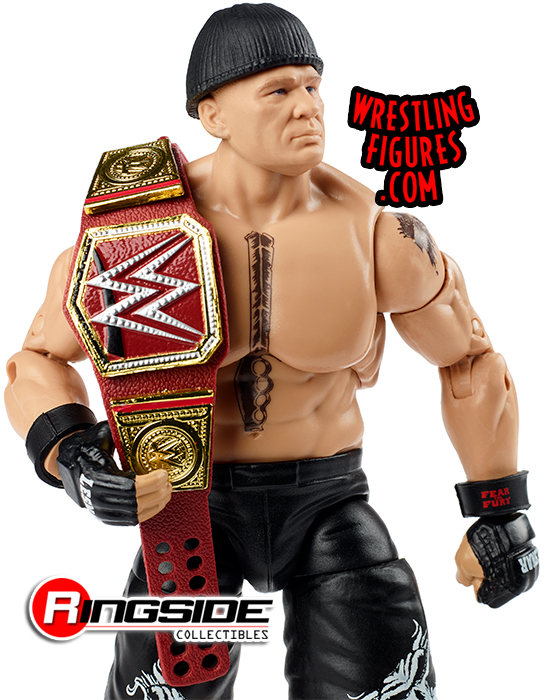 ACTION FIGUR THE BEAST WWE MATTEL ELITE ULTIMATE EDITION SERIE 4 BROCK LESNAR