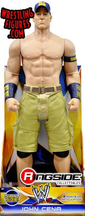John Cena 31 Inch Wwe Figure Wwe Toy Wrestling Action