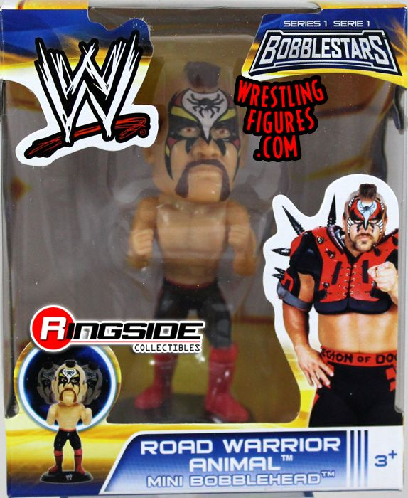 Road Warrior Animal Wwe 3 5 Quot Mini Bobblehead Series 1