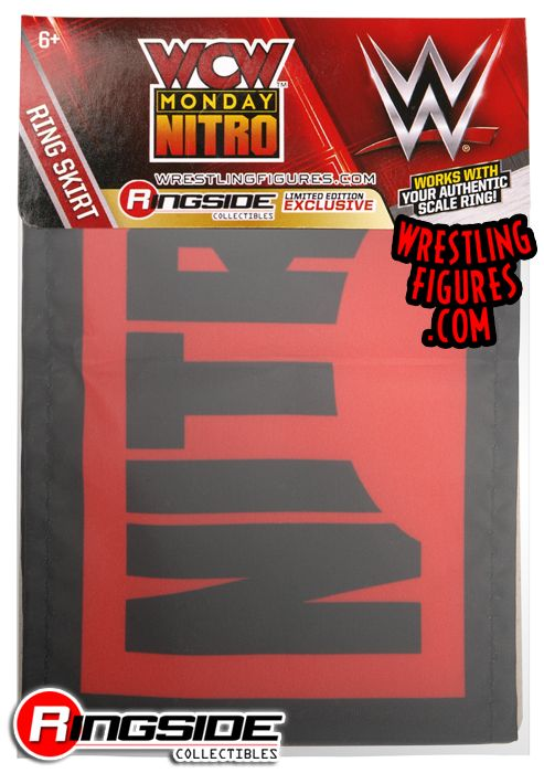 Ring Skirt Wcw Monday Nitro Ringside Collectibles