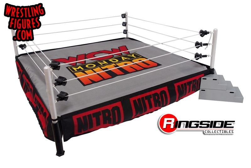 WCW Monday Nitro (Ring Skirt & Mat) - Ringside Collectibles