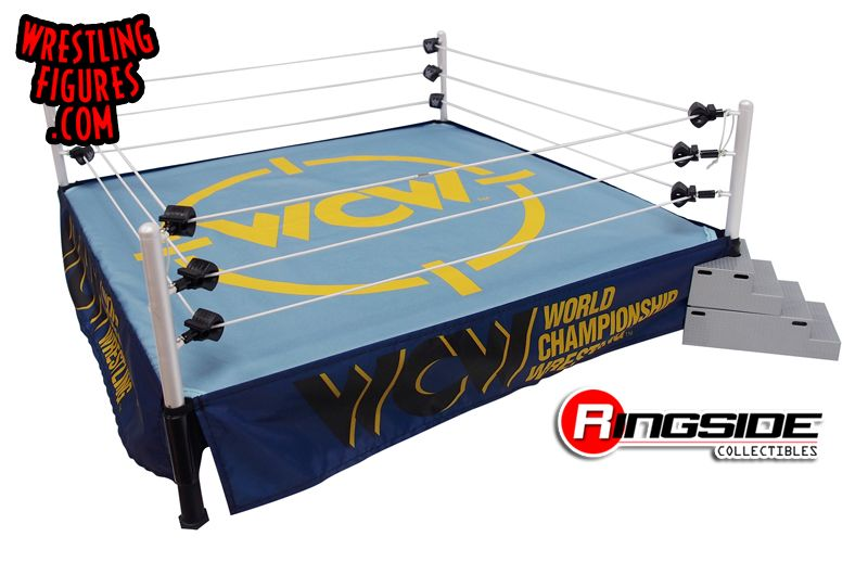 Wcw Classic Ring Skirt Amp Mat Ringside Collectibles
