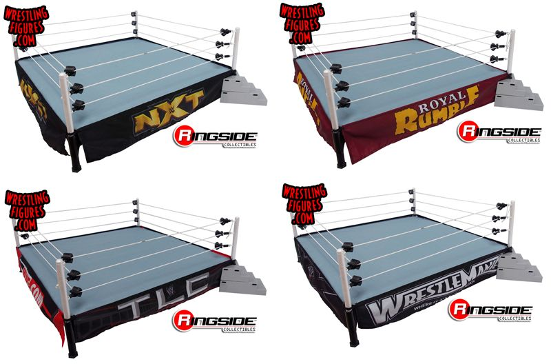 Raw Is War Ring Skirt Ringside Exclusive