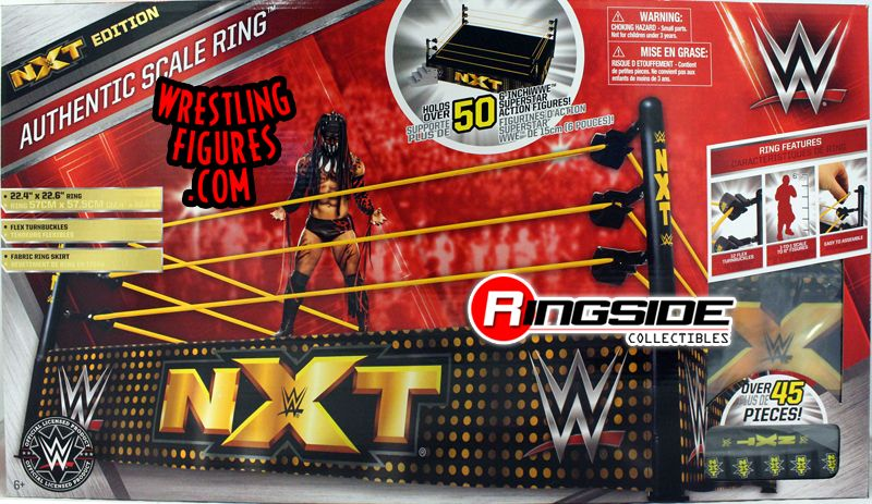 Quot Nxt Version Quot Wwe Authentic Official Real Scale