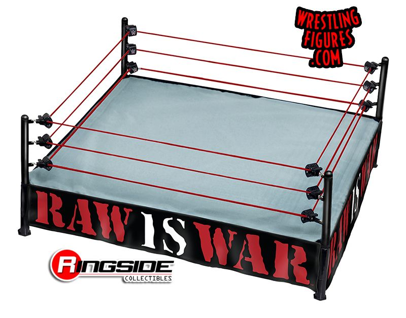 Ring Skirt Raw Is War Ringside Collectibles Exclusive
