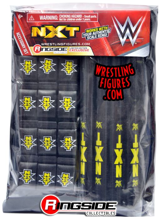 Quot Nxt Accessory Pack Quot Ringside Collectibles Exclusive Wwe