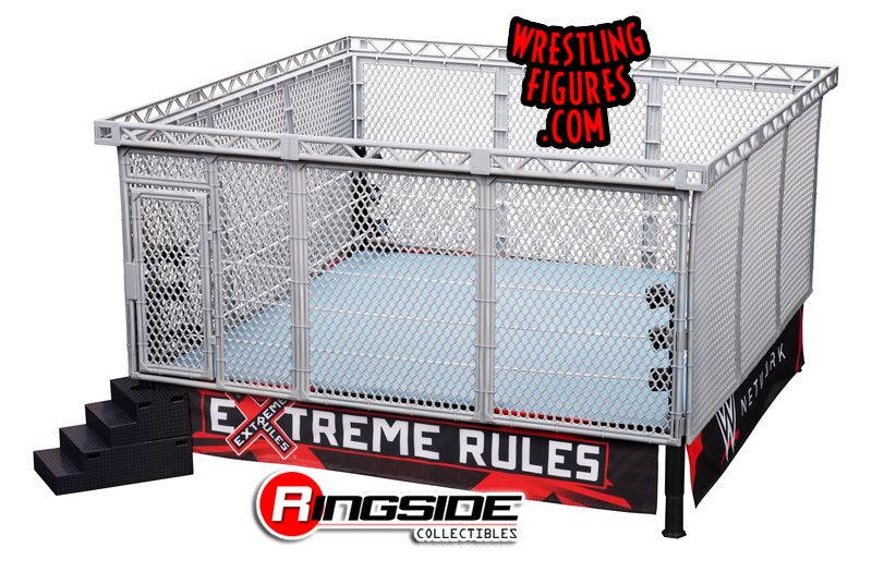 Basic Version Authentic Scale Ring W Wwe Modern Cage